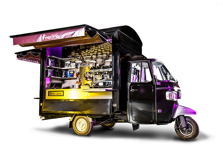 Piaggio Mobile Coffee Van Cart